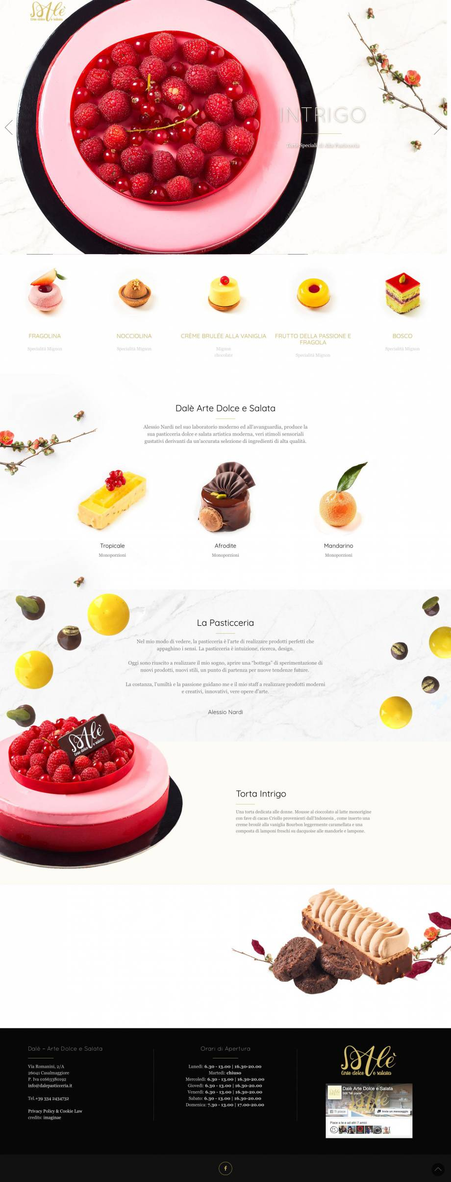Web Design, Fotografia, Web Site, Social Media Strategy, Grafica, Responsive Smartphone & Tablet, Immagine Coordinata, Art Direction & Visual Design,