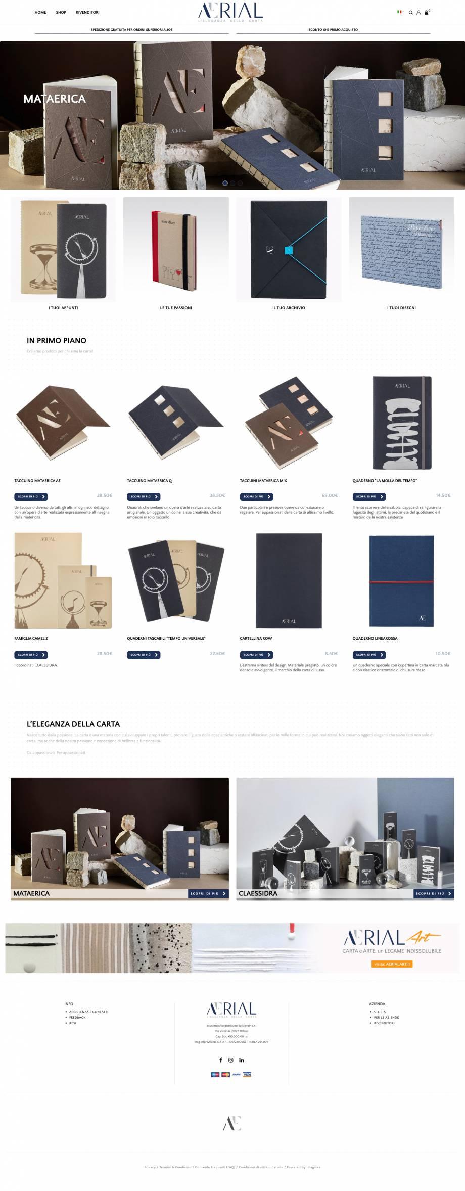 Web Design, Logo Design, E-Commerce, Web Site, Social Media Strategy, Branding, Responsive Smartphone & Tablet, Facebook Advertising, Google AdWords - Campagne Search,
